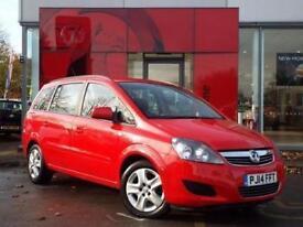 2014 Vauxhall Zafira 1.8i Exclusiv 5 door Petrol People Carrier
