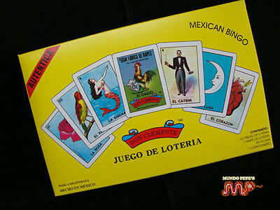 Loteria Don Clemente Luxury Ed. Authentic Mexican Classic Bingo Game Since 1887 - Since Games