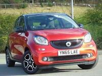 2015 Smart forfour 0.9 Turbo Prime Premium Plus 5 door Petrol Hatchback