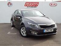 2012 Kia Optima 1.7 CRDi 1 4 door Diesel Saloon