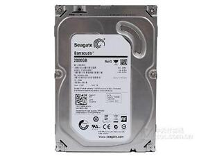 Seagate Desktop HDD 2TB - 3.5in SATA Internal Bare Hard Drive -