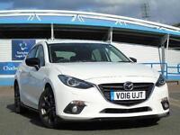2016 Mazda 3 2.0 Sport Black 5 door Petrol Hatchback