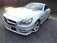 2013 Mercedes SLK SLK 250 CDI BlueEFFICIENCY AMG Sport 2 door Tip Auto Diesel Co