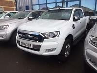 2016 Ford Ranger Pick Up Double Cab Limited 1 2.2 TDCi Auto Diesel Double Cab Pi