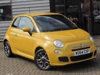 2015 Fiat 500 1.2 S 3 door Petrol Hatchback