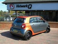 2015 Smart forfour 0.9 Turbo Edition 1 5 door Petrol Hatchback