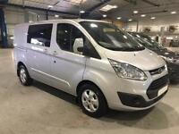 2016 Ford Transit Custom 2.0 TDCi 170ps Low Roof D/Cab Limited Van Diesel