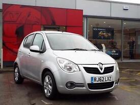 2012 Vauxhall Agila 1.2 VVT ecoFLEX SE 5 door Petrol Hatchback