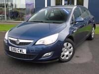 2011 Vauxhall Astra 1.3 CDTi 16V ecoFLEX ES 5 door Diesel Hatchback