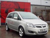 2011 Vauxhall Zafira 1.7 CDTi ecoFLEX SRi [125] 5 door Diesel People Carrier