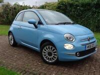 2016 Fiat 500 1.2 Lounge 3 door Petrol Hatchback