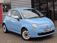 2014 Fiat 500 1.2 Colour Therapy 3 door Dualogic Petrol Hatchback