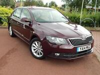 2014 Skoda Superb 1.6 TDI CR Elegance GreenLine III 5 door Diesel Hatchback