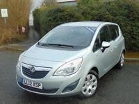 2012 Vauxhall Meriva 1.4T 16V [140] Exclusiv 5 door Petrol Estate