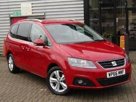 2016 SEAT Alhambra 2.0 TDI CR Ecomotive SE [150] 5 door Diesel People Carrier
