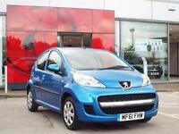 2011 Peugeot 107 1.0 Urban 5 door Petrol Hatchback