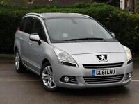2012 Peugeot 5008 1.6 HDi 112 Exclusive 5 door Diesel People Carrier