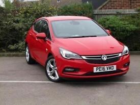 2016 Vauxhall Astra 1.6 CDTi 16V 136 SRi Nav 5 door Diesel Hatchback