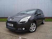 2011 Peugeot 5008 2.0 HDi 150 Exclusive 5 door Diesel People Carrier