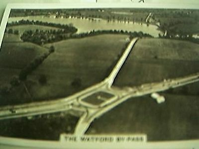 cigarette card britian from the air - the watford by pass 1939