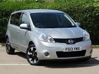 2013 Nissan Note 1.6 N-Tec+ 5 door Auto Petrol Hatchback