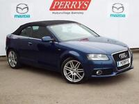 2012 Audi A3 2.0 TDI S Line 2 door [Start Stop] Diesel Convertible