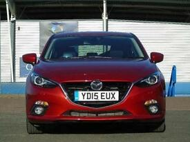 2015 Mazda 3 2.2d Sport Nav 5 door Diesel Hatchback