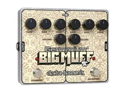 Electro Harmonix EHX Germanium 4 Big Muff Pi Effects Pedal, Brand New
