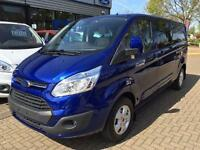 2016 Ford Transit Custom 2.0 TDCi 130ps Low Roof D/Cab Limited Van Diesel