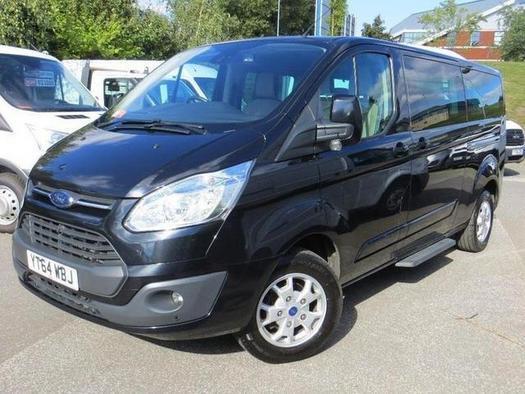 2014 Ford Tourneo Custom 2.2 TDCi 125ps Low Roof 8 Seater Titanium Diesel Van