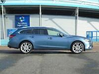 2014 Mazda 6 2.2d Sport 5 door Diesel Estate