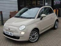 2014 Fiat 500 1.2 Lounge 3 door Dualogic [Start Stop] Petrol Hatchback