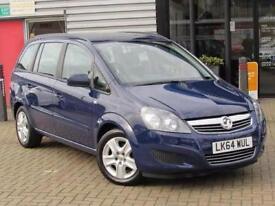 2014 Vauxhall Zafira 1.8i [120] Exclusiv 5 door Petrol People Carrier