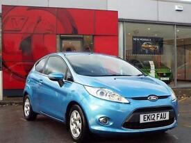 2012 Ford Fiesta 1.6 TDCi Zetec ECOnetic 3 door Diesel Hatchback
