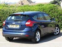 2012 Ford Focus 1.6 Zetec 5 door Petrol Hatchback
