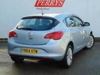 2014 Vauxhall Astra 1.6i 16V Excite 5 door Petrol Hatchback