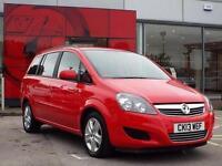 2013 Vauxhall Zafira 1.7 CDTi ecoFLEX Exclusiv Nav [110] 5 door Diesel People Ca