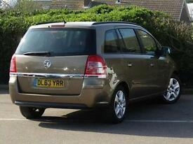 2014 Vauxhall Zafira 1.7 CDTi ecoFLEX Exclusiv [110] 5 door Diesel People Carrie