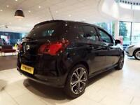 2017 Vauxhall Corsa 1.4T [150] Black Edition 5 door Petrol Hatchback