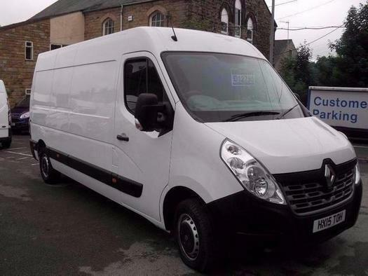 2015 Renault Master LM35dCi 125 Business Medium Roof Van Diesel