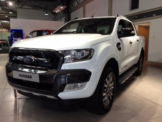 2017 Ford Ranger Pick Up Double Cab Wildtrak 3 2 Tdci 200 Auto Diesel Double Cab In Aylesbury