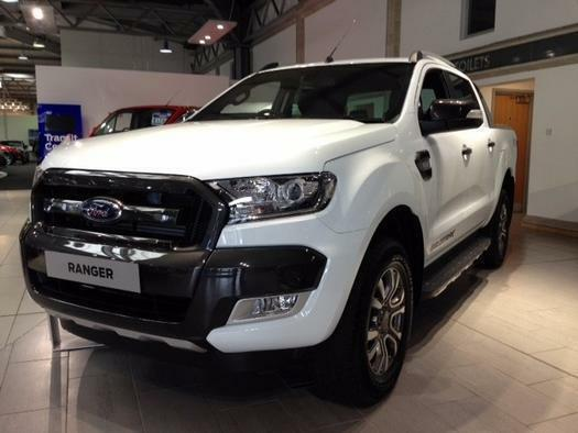 2017 ford ranger pick up double cab wildtrak 3 2 tdci 200 auto diesel double cab in aylesbury. Black Bedroom Furniture Sets. Home Design Ideas