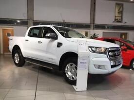 2018 Ford Ranger Pick Up Double Cab Limited 1 2.2 TDCi Diesel Double Cab Pick-up