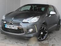 2016 Citroen DS3 1.2 PureTech 110 DStyle 3 door Petrol Hatchback