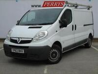 2013 Vauxhall Vivaro 2.0CDTI [115PS] Van 2.9t Euro 5 Diesel