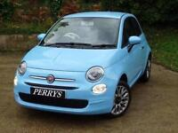 2017 Fiat 500 1.2 Pop Star ECO 3 door Petrol Hatchback
