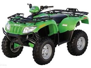 Parting out a 2005 650v2 Arctic cat