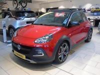 2017 Vauxhall Adam 1.4T Rocks S 3 door Petrol Hatchback