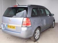 2006 Vauxhall Zafira 1.6i Active 5 door Petrol People Carrier