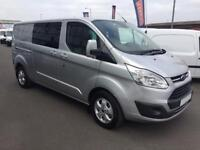 2018 Ford Transit Custom 2.0 TDCi 130ps Low Roof D/Cab Limited Van Diesel